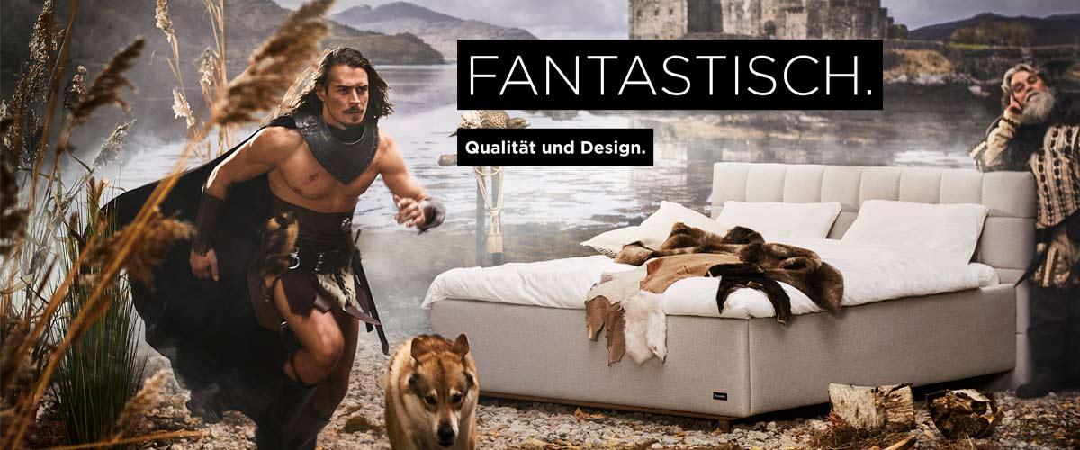 Dunlopillo neue Betten Kollektion
